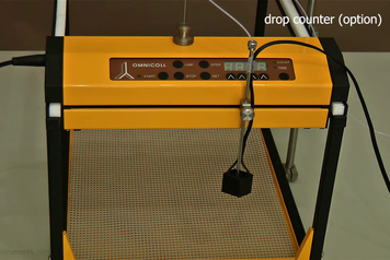 OMNICOLL single channel fraction collector with drop counter
