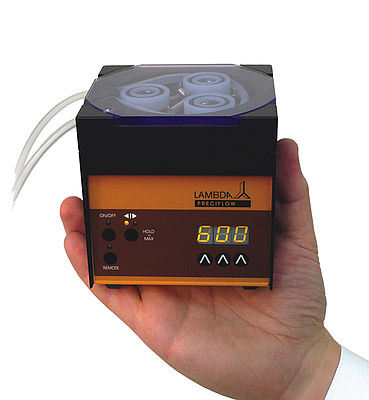Peristaltic pumps for column chromatography