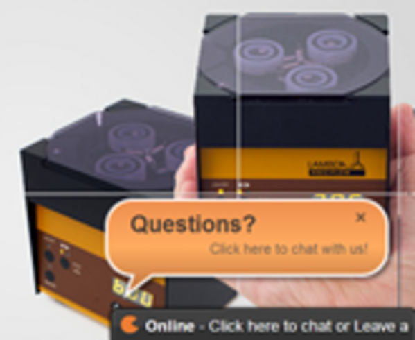 Personal assistance by live chat tool-just ask your questions!