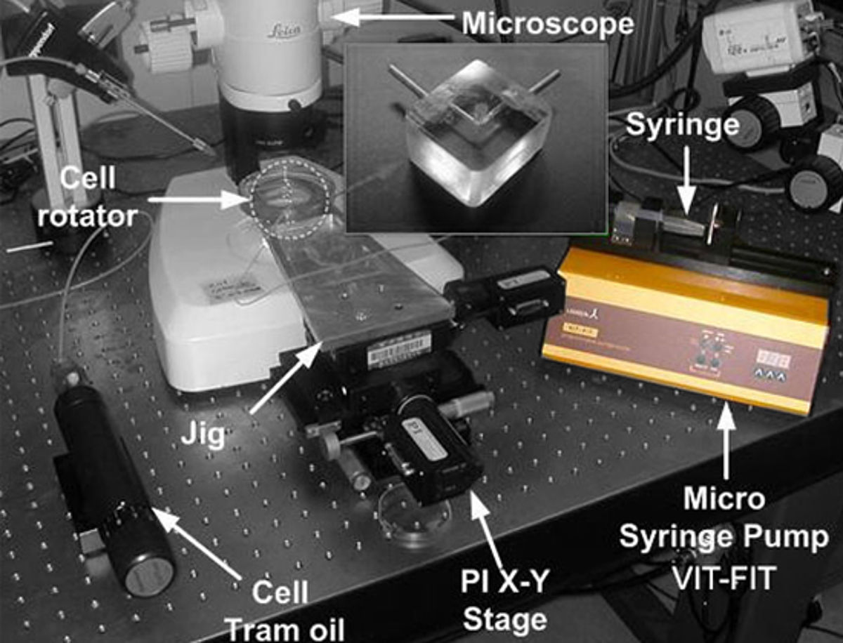 Programmable VIT-FIT syringe pump for microfluidic applications
