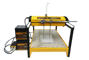 OMNICOLL 2-channel fraction collector with LAMBDA pumps for 96-well plates