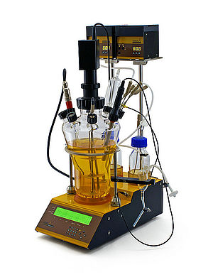 Modular MINIFOR lab fermenter and bioreactor for Universities and Technical Schools