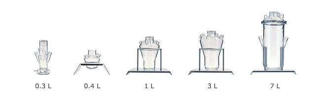 Ферментационные ёмкости, рабочий объём и количество горловин
